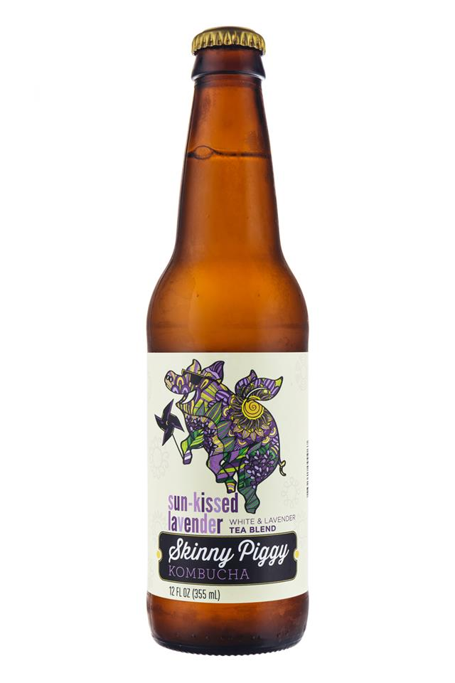 Skinny Piggy Kombucha : SkinnyPiggy-Kombucha-Lavender-Front