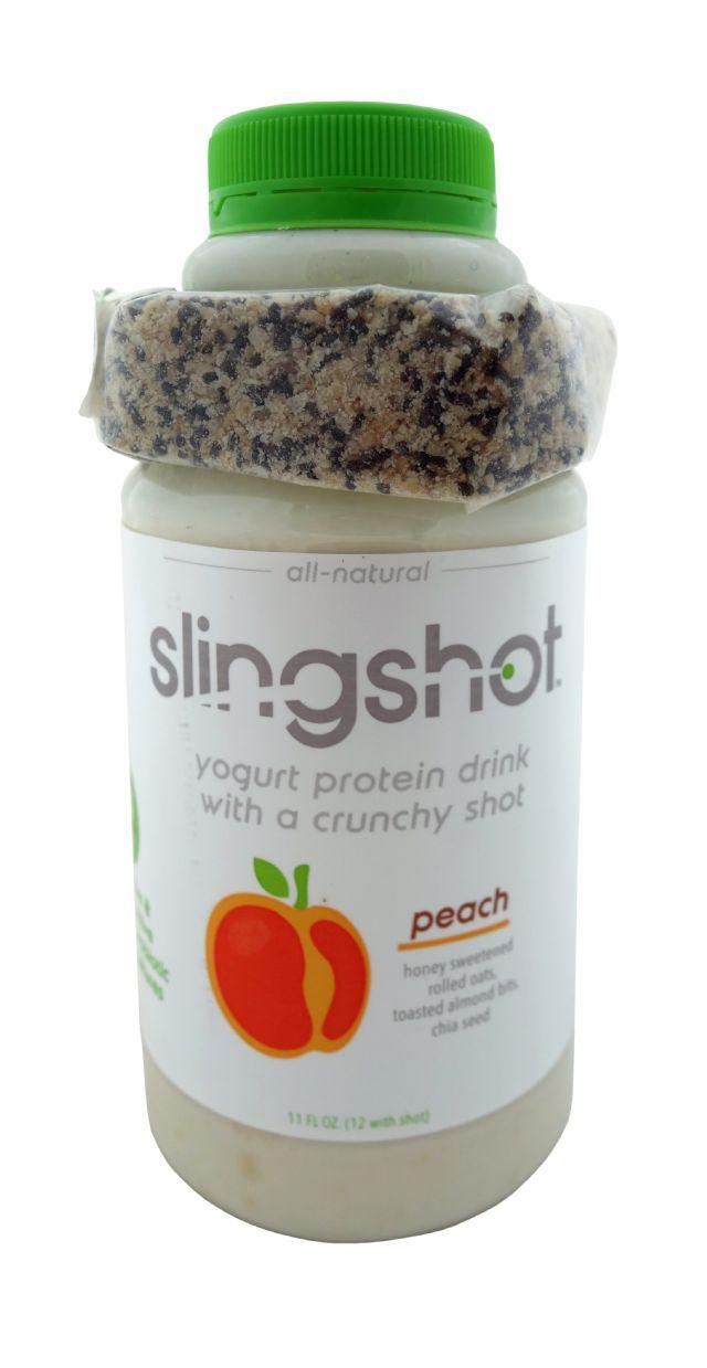 Slingshot Yogurt Protein Drink: Slingshot Peach Front
