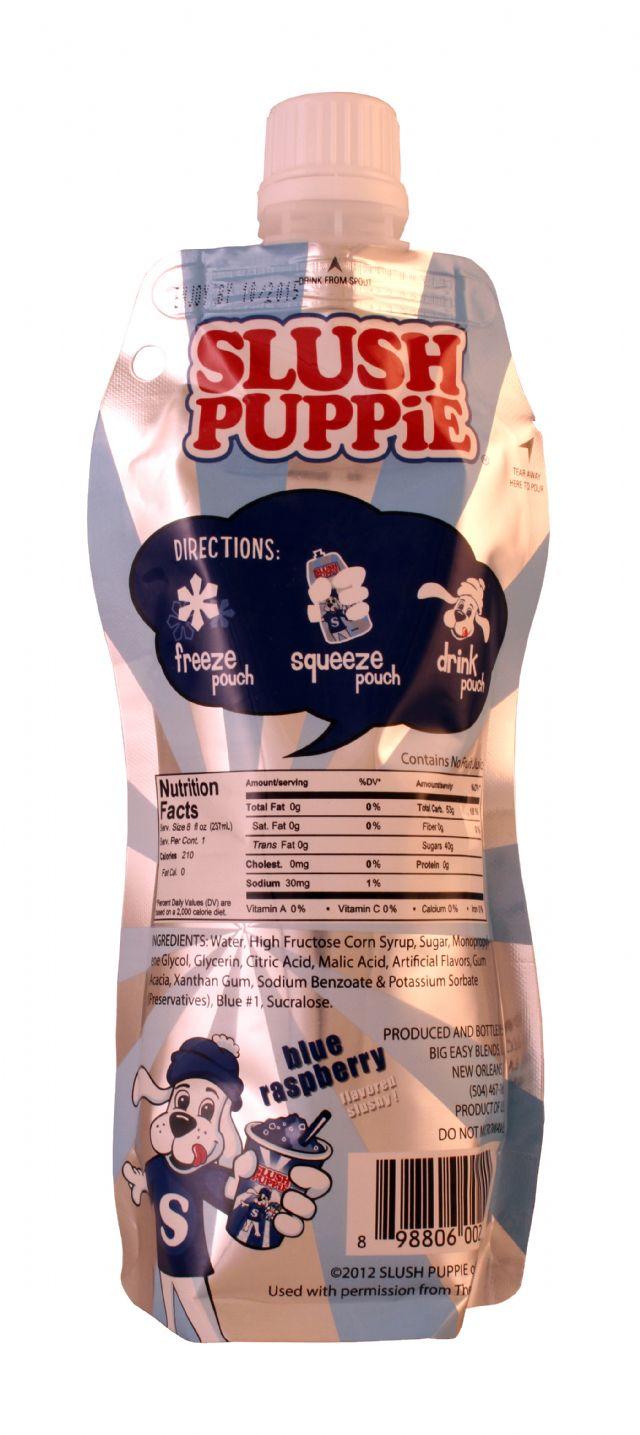 Slush Puppie: SlushPuppie BlueRasp Facts