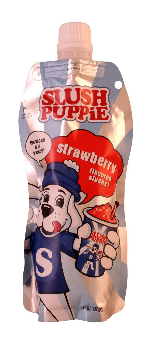 Slush Puppie: SlushPuppie Straw Front