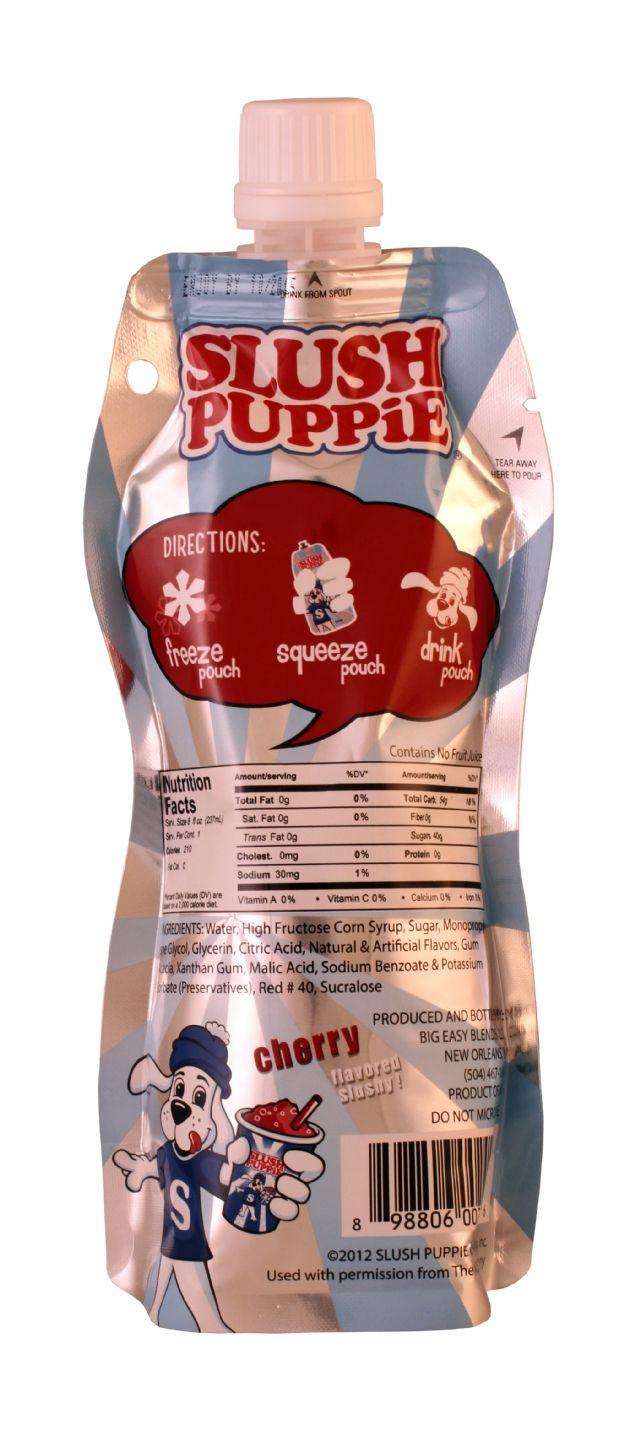 Slush Puppie: SlushPuppie Cherry Facts