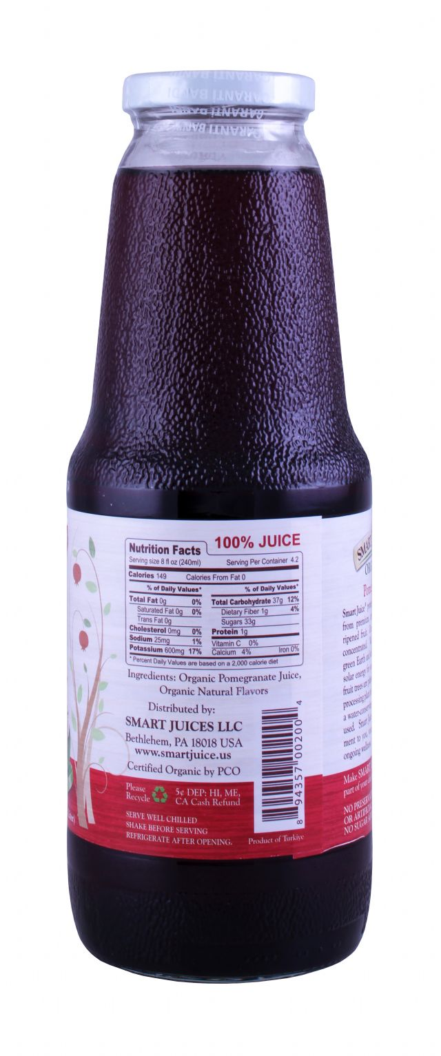 Smart Juice: SmartJuice Pom Facts