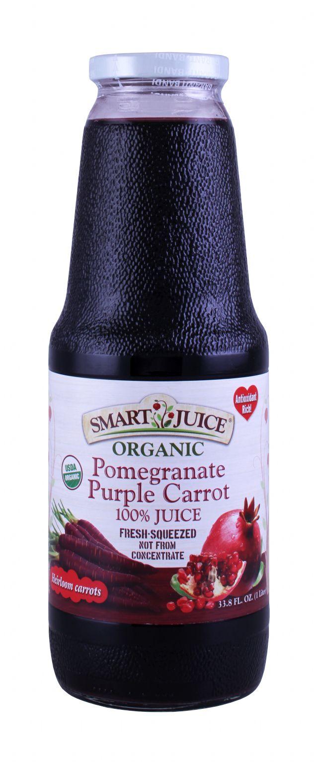 Smart Juice: SmartJuice PomCarrot Front