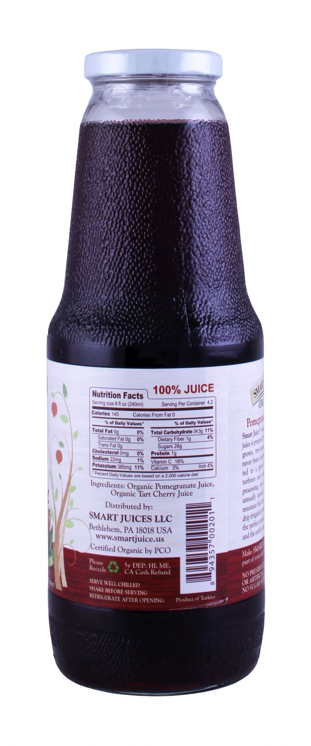 Smart Juice: SmartJuice PomTartCherry Facts