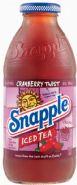 Snapple beverage- Cranberry twist