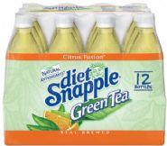 Snapple beverage- Diet Green Tea
