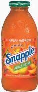 Snapple beverage- Mango Madness