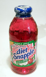 Diet Snapple Apple