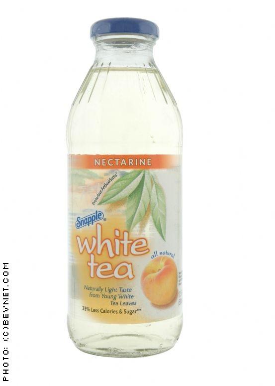Snapple White Tea: whitetea_nectarine.jpg