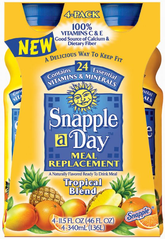 Snapple-a-Day: Snapple a day-Tropical Blend