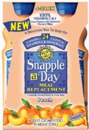 Snapple-a-Day: Snapple a day- Peach
