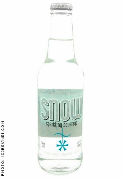 Snow Sparkling Mint Beverage: Snow