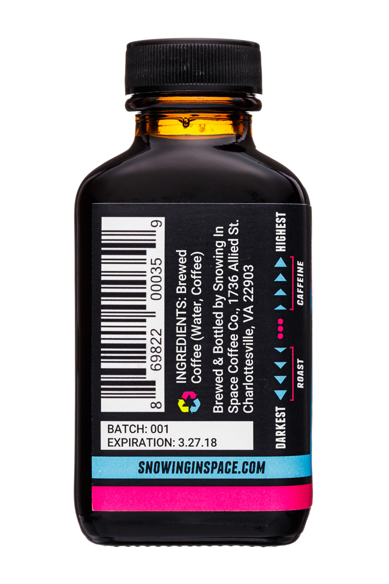 Snowing in Space Coffee Co.: SnowingInSpaceCoffee-3oz-RocketFuel-Espresso-Facts