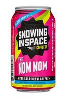 Snowing in Space Coffee Co.: SnowingInSpaceCoffee-12oz-NitroColdBrew-TheNomNom-Front