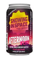 Snowing in Space Coffee Co.: SnowingInSpaceCoffee-12oz-NitroColdBrew-AfternoonDLite-Front