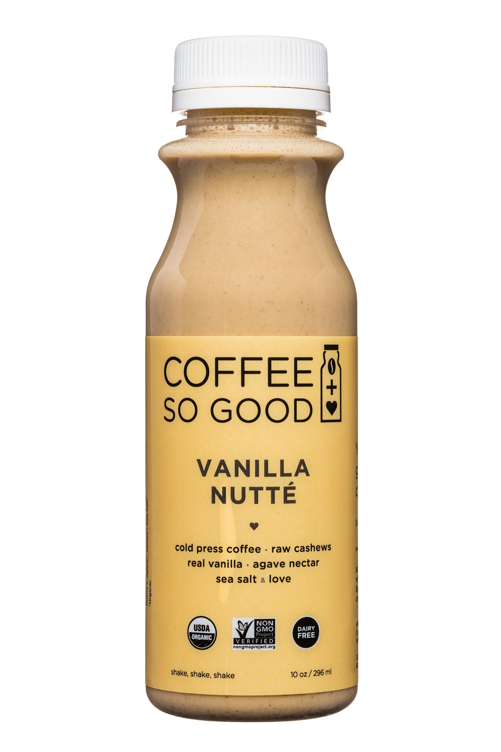 Coffee So Good: CoffeeSoGood-10oz-ColdPress-VanillaNutte-Front