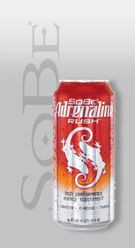 SoBe Adrenaline Rush Energy Drink: Official Image of Sobe Adrenaline Rush