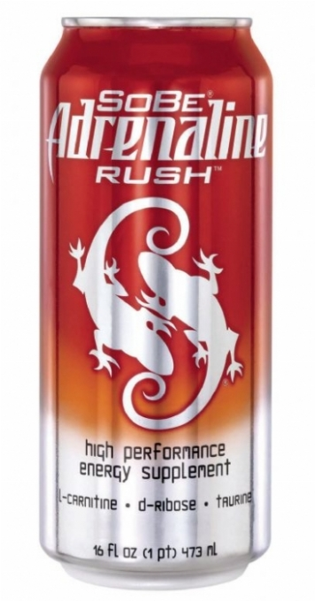 SoBe Adrenaline Rush Energy Drink: