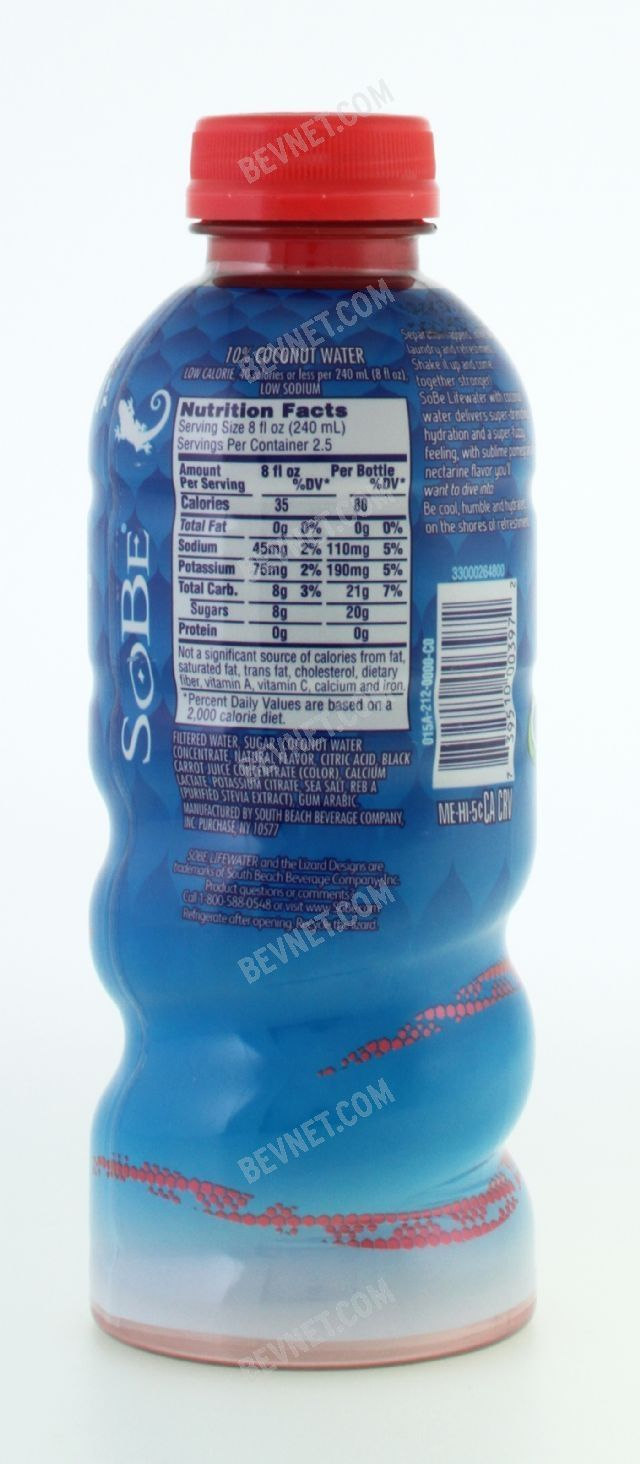 SoBe Lifewater with Coconut Water: