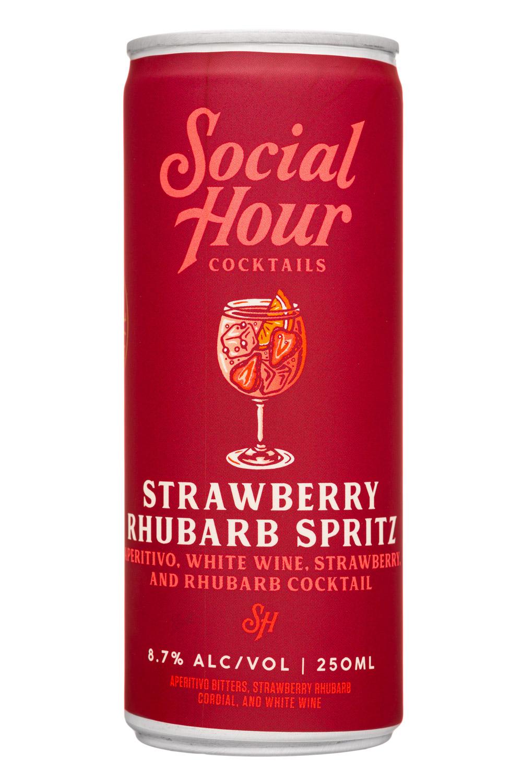 Strawberry Rhubarb Spritz