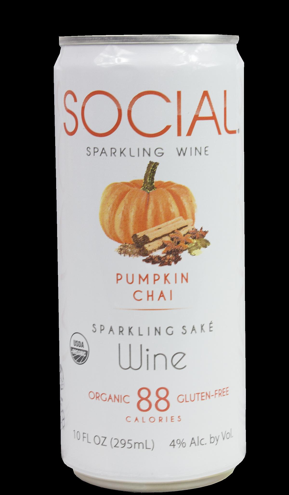 SOCIAL Pumpkin Chai Sparkling Wine