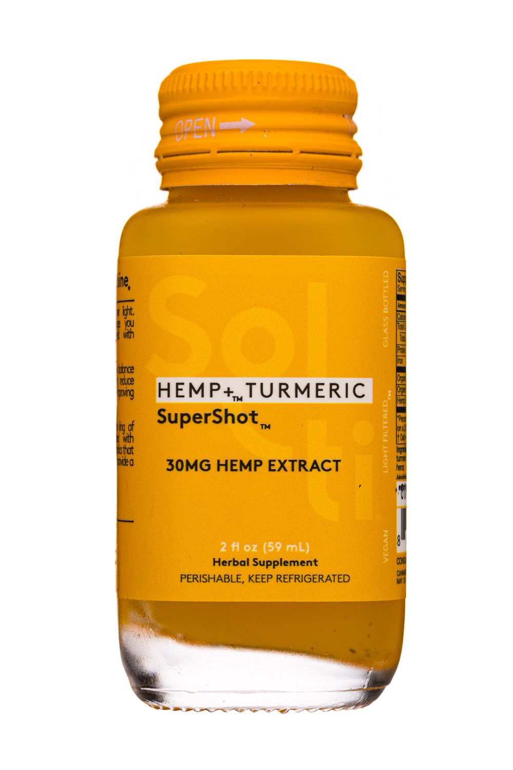 HEMP + Turmeric - Supershot