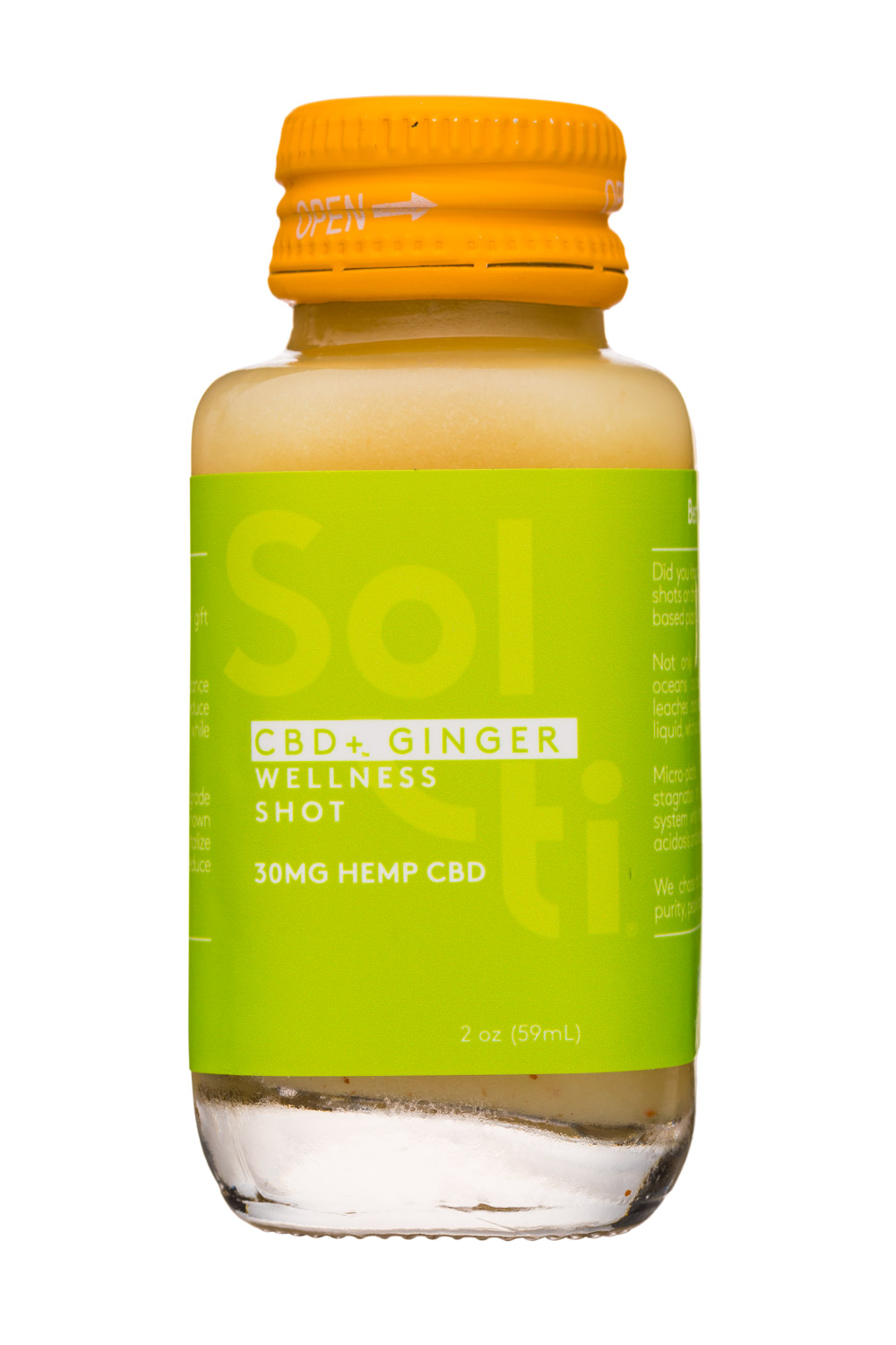CBD + Ginger - Wellness Shot