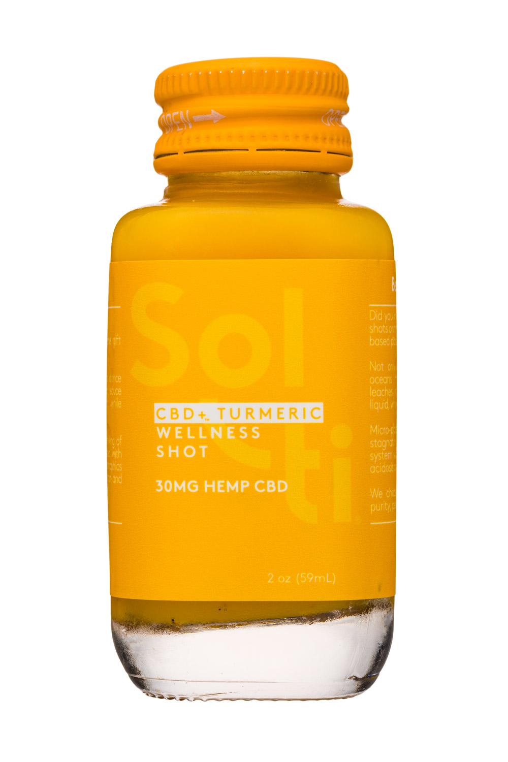 CBD + Turmeric - Wellness Shot