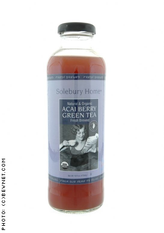 Solebury Home Fresh Brewed Organic Teas: acaigreen.jpg