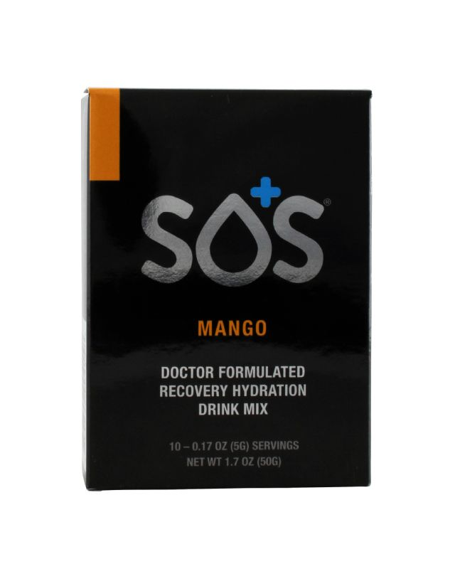 SOS Rehydrate: Sos Mango Front