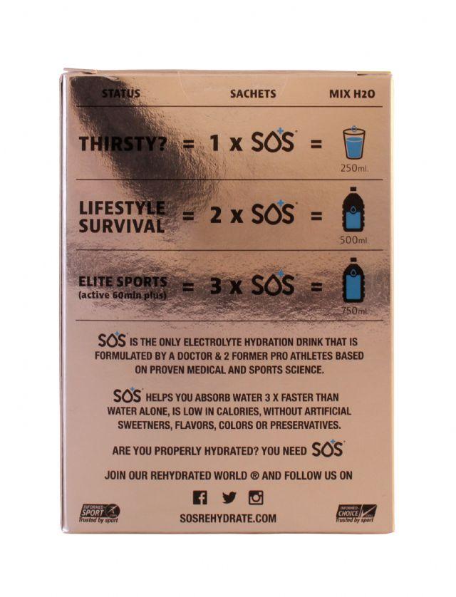 SOS Rehydrate: SOS Citrus Back