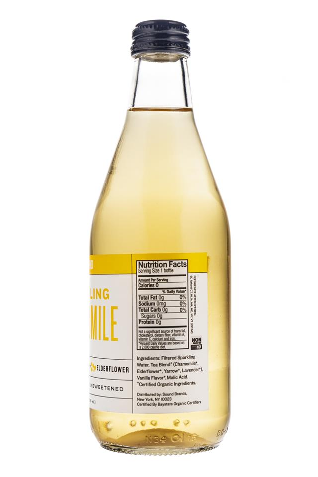 Sound Sparkling Tea: Sound-Sparkling-2016-Chamomile-VanillaElderflower-Facts