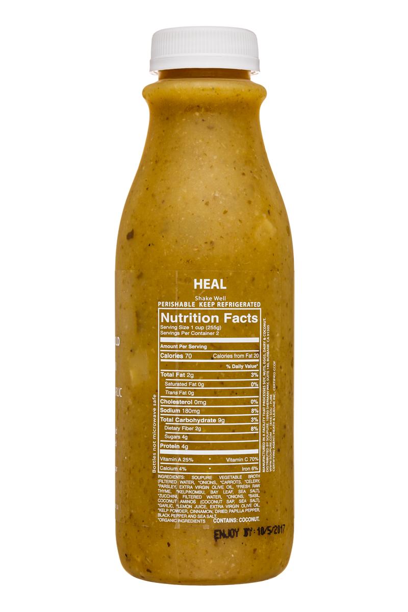 Soupure: Soupure-16oz-ZucchiniBasil-Heal-Facts