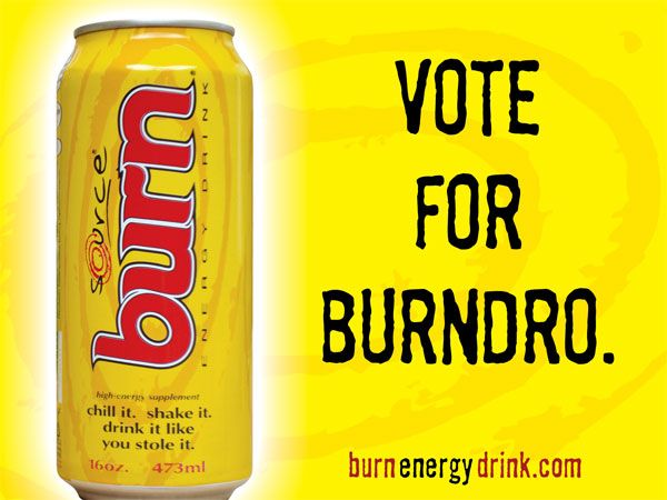 Burn: Vote for Burndro