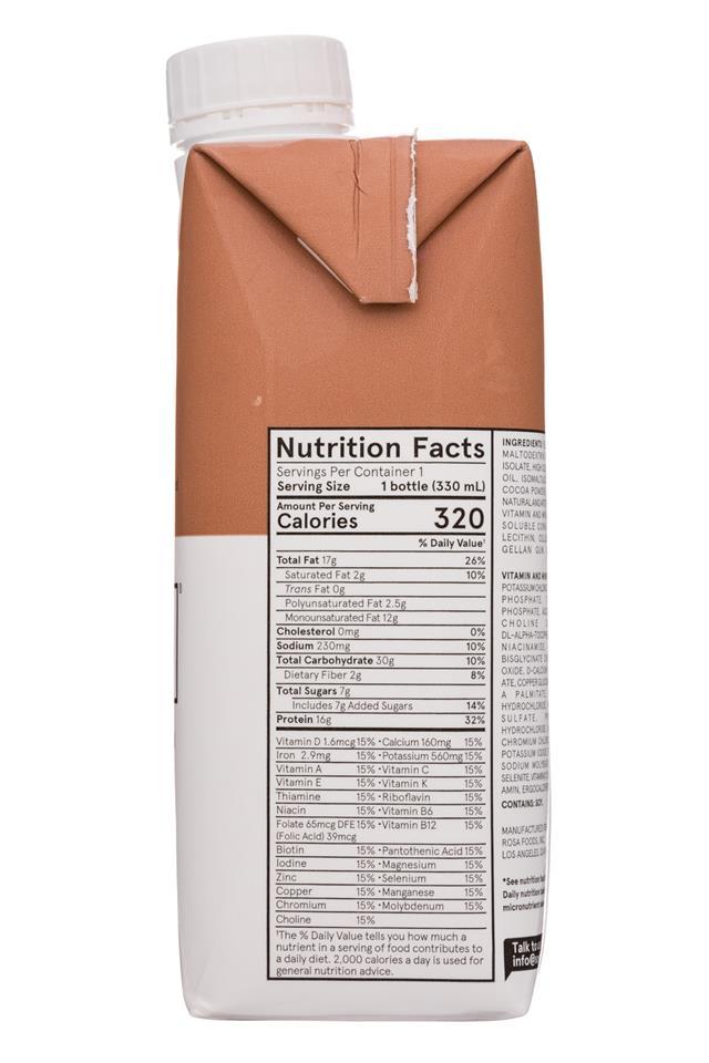 Soylent: Soylent-11oz-Tetra-Cacao-Facts