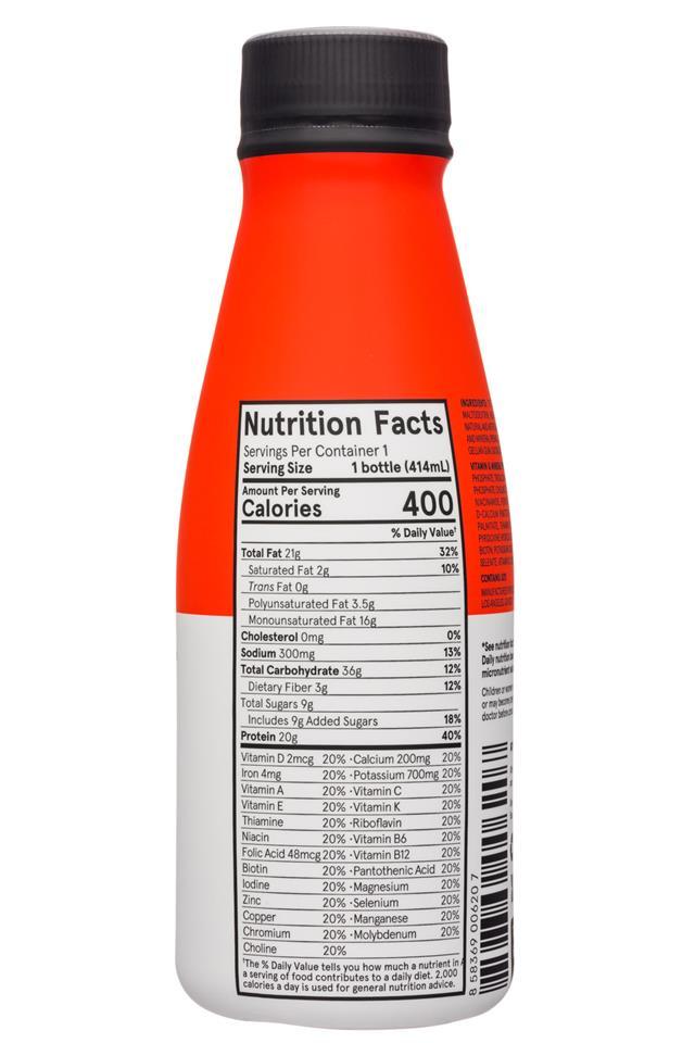 Soylent: Soylent-14oz-RTD-Strawberry-Facts