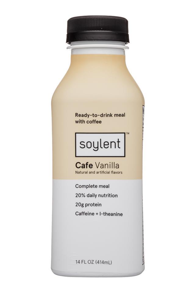 Soylent: Soylent-14oz-Cafe-Vanilla-Front