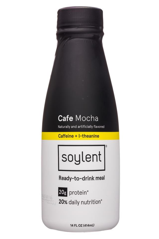 Soylent: Soylent-14oz-18NewBottle-Cafe-Mocha-Front