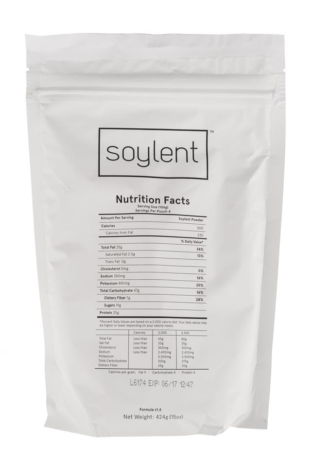 Soylent: Soylent-Facts