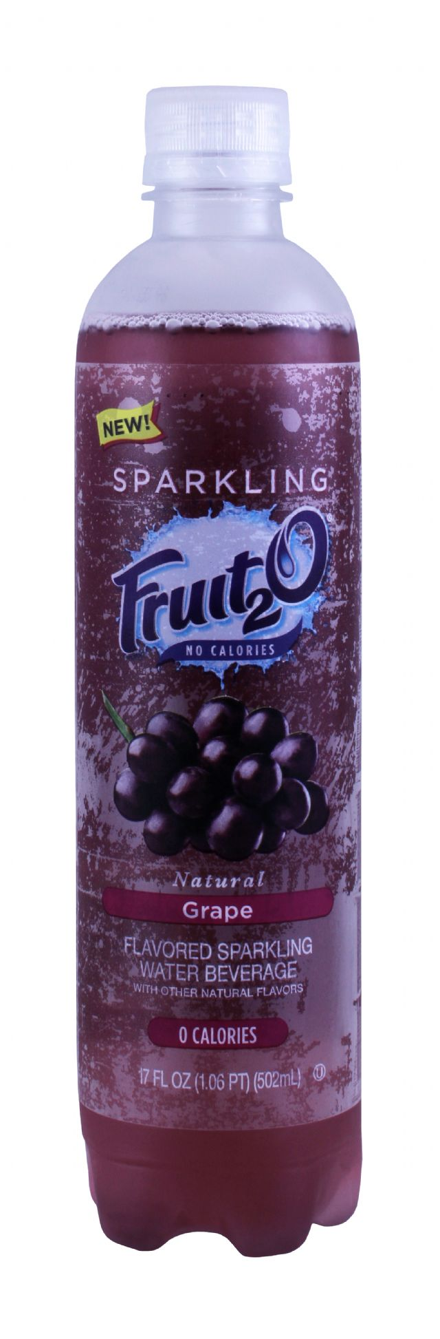Sparkling Fruit2O: Fruit20 Grape Front