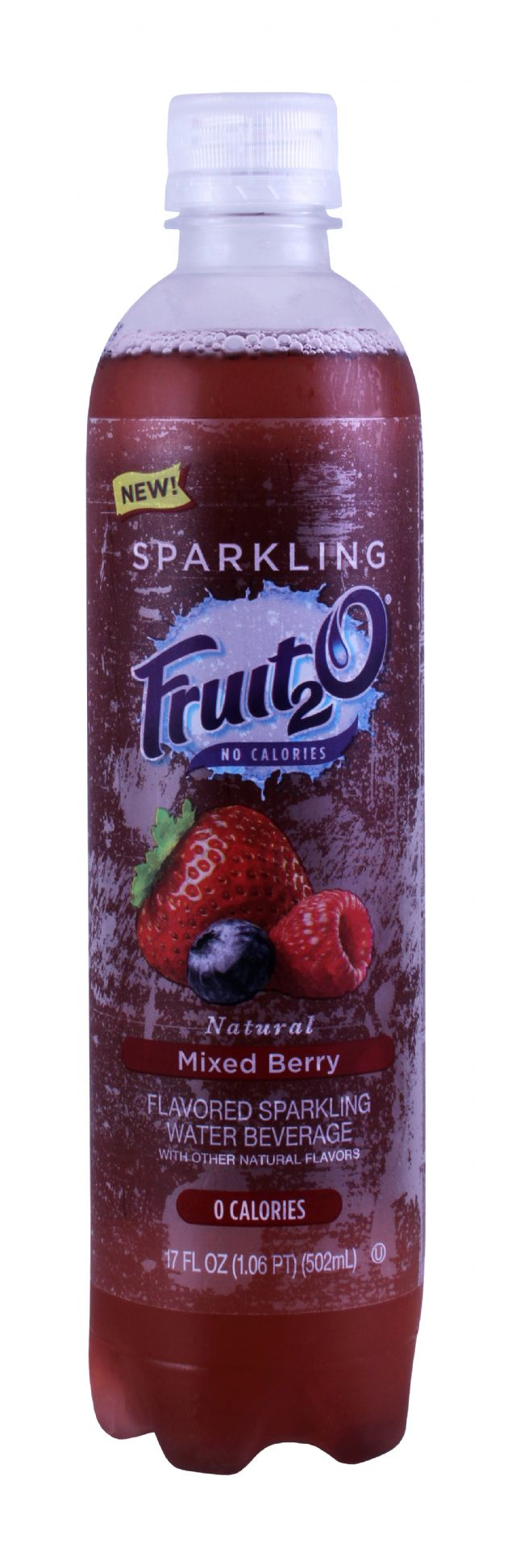 Sparkling Fruit2O: Fruit20 MixedBerry Front