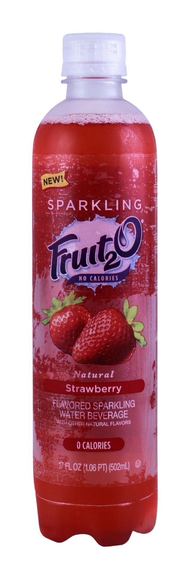 Sparkling Fruit2O: Fruit20 Strawberry Front