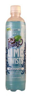 Sparkling Fruit2O: Fruit20 BlueberryLime Front