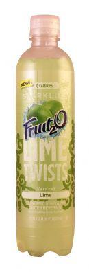 Sparkling Fruit2O: Fruit20 Lime Front