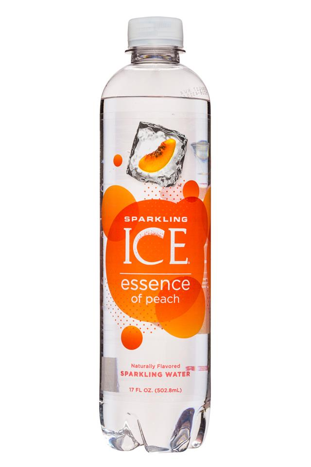 Sparkling ICE Essence of Water: SparklingIce-17oz-Peach-Front