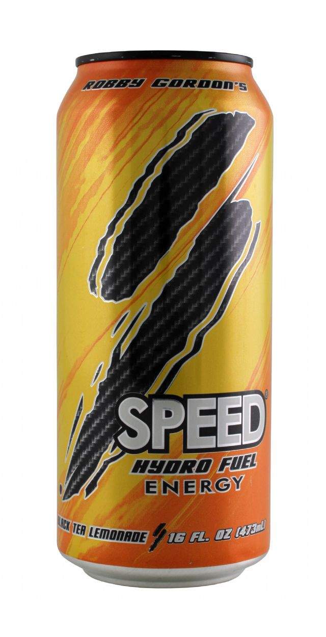 Speed Energy: Speed BlackTeaLem Front