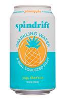 Spindrift: Spindrift-12oz-2020-SparklingWater-Pineapple-Front