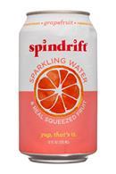 Spindrift-12oz-SparklingWater-Grapefruit-Front