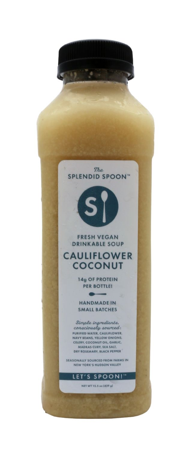 Splendid Spoon Fresh Vegan Drinkable Soup: SS CauliCoco Front