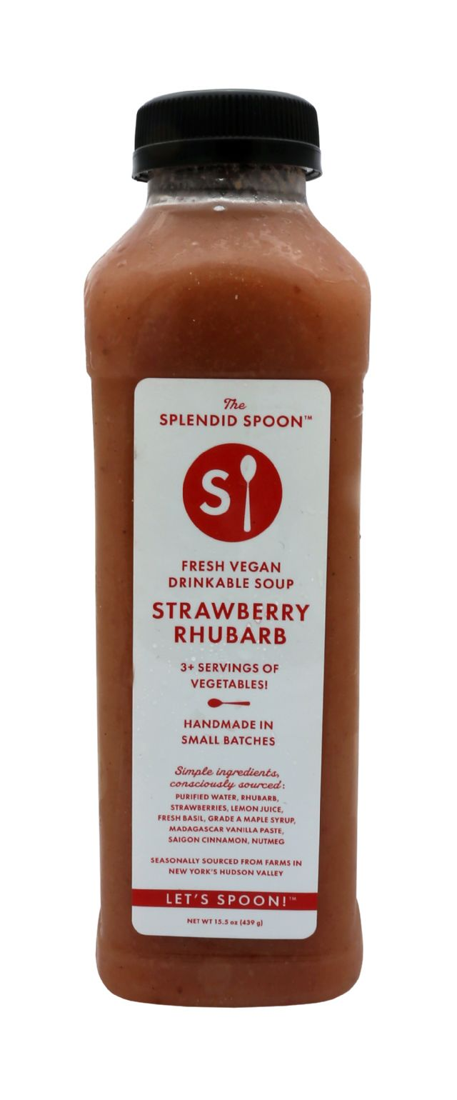 Splendid Spoon Fresh Vegan Drinkable Soup: SS StrawRhu Front